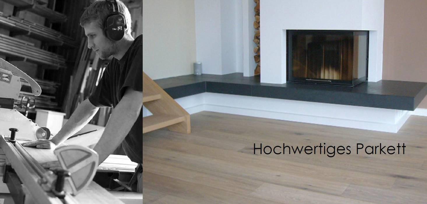 Unternehmensbeschreibung:  Wohnzimmer von Tischlerei Nils Grimm,Modern