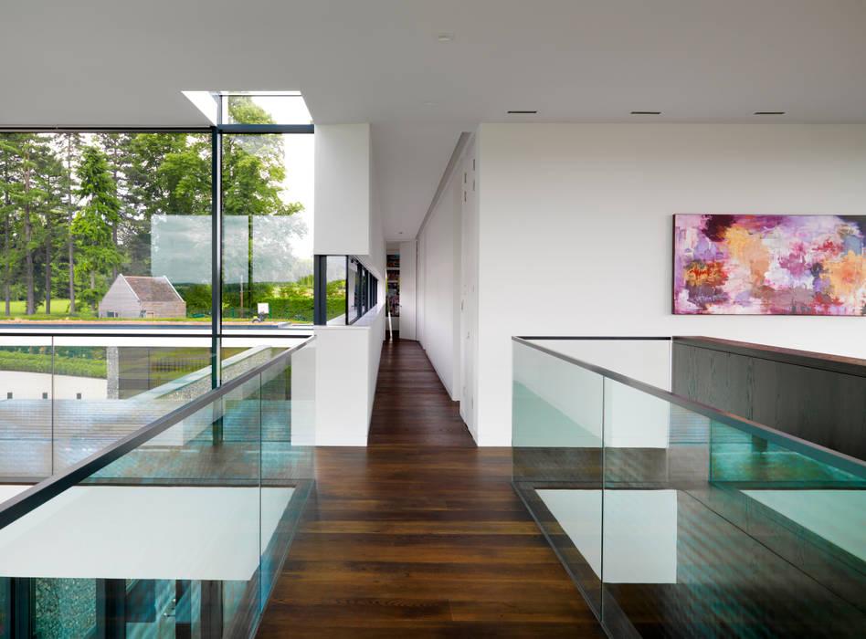Berkshire Gregory Phillips Architects Couloir, entrée, escaliers modernes