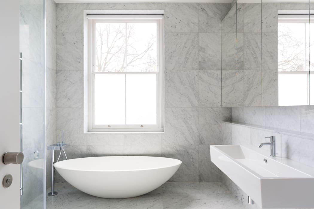 Carlton Hill, London Minimalist style bathroom by Gregory Phillips Architects Minimalist