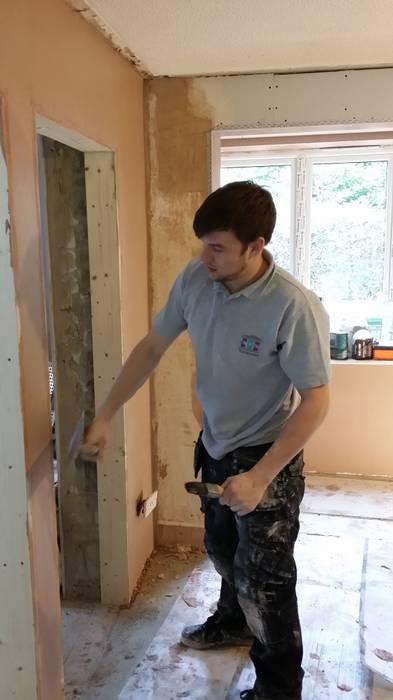 Plastering 1 Modern conservatory by BPM Maintenance Modern