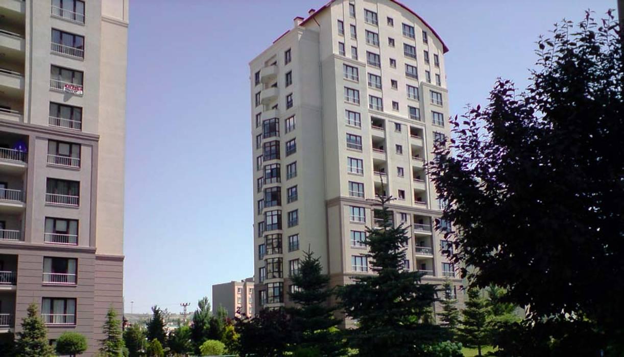 Casas estilo moderno: ideas, arquitectura e imágenes de Nurettin Üçok İnşaat Moderno