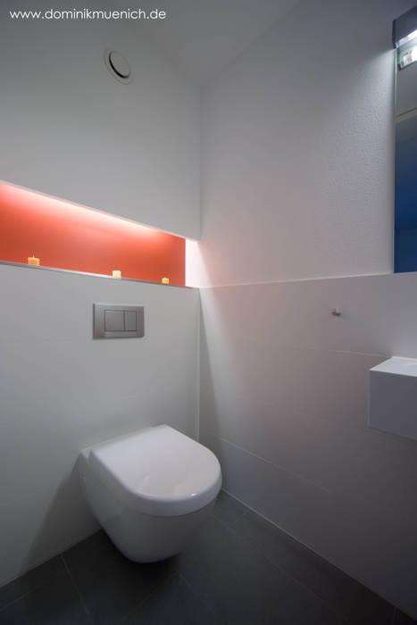 generalsanierung am pflanzgarten 20, regensburg:  Badezimmer von Architekturbüro Ferdinand Weber