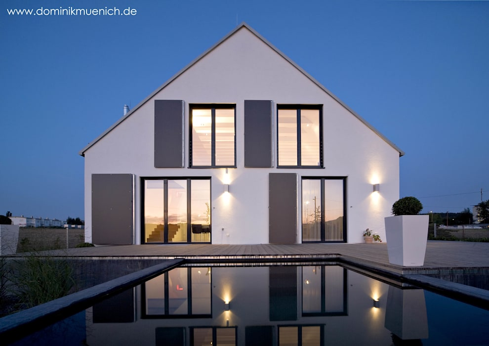 generalsanierung am pflanzgarten 20, regensburg Architekturbüro Ferdinand Weber Moderne Häuser