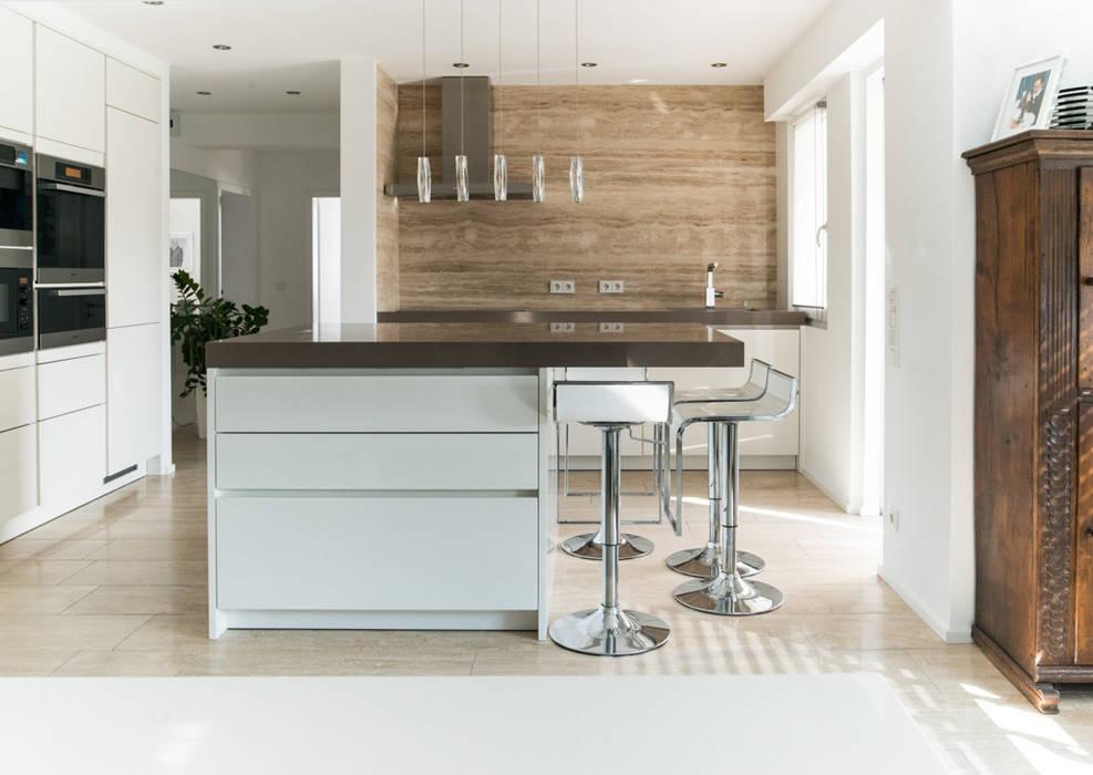 Industrial style kitchen by Pientka - Faszination Naturstein Industrial