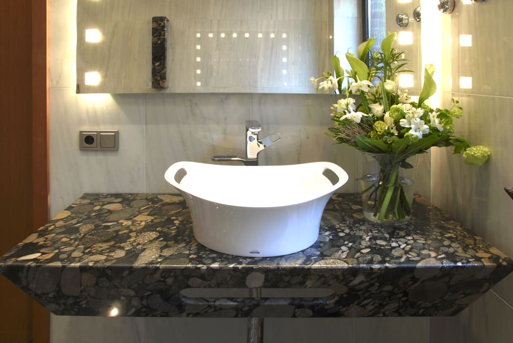 Pientka - Faszination Naturstein Eclectic style bathroom