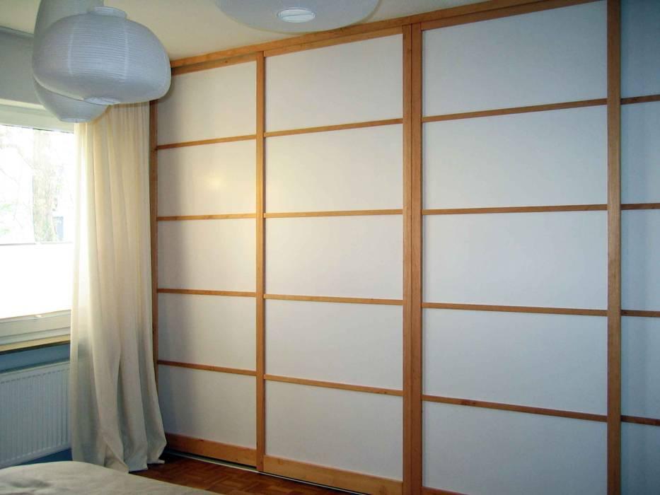 Schiebetür im Shoji-Stil von Lignum Möbelmanufaktur GmbH Asiatisch
