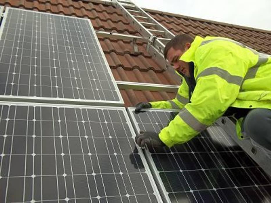 Solar panel installation BPM Environmental