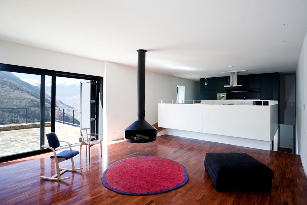 Living room by Cadaval & Solà-Morales, Modern