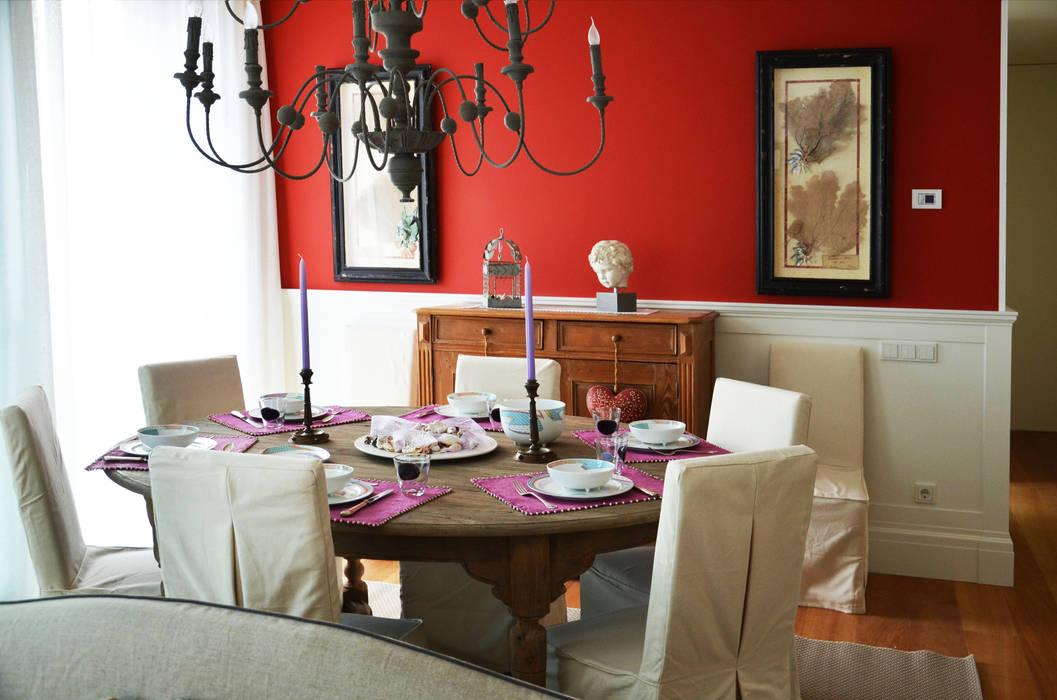 Interior design - Sea House - Jesolo Venezia Italy Sala da pranzo eclettica di IMAGO DESIGN Eclettico