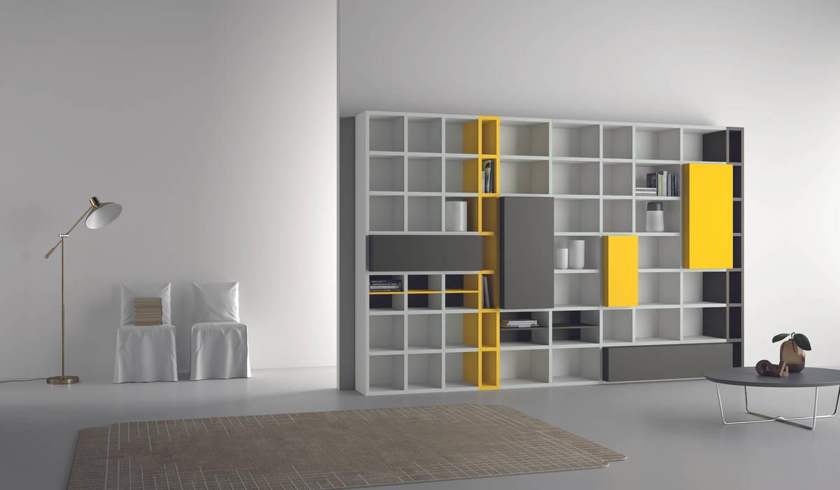 Industrial design - Dall'Agnese - Zona giorno Speed IMAGO DESIGN SoggiornoScaffali