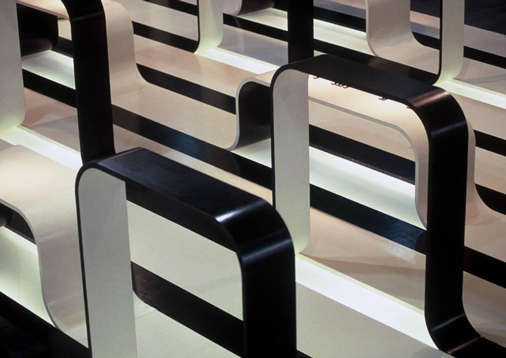 büro für interior design Diseño de ferias de estilo moderno