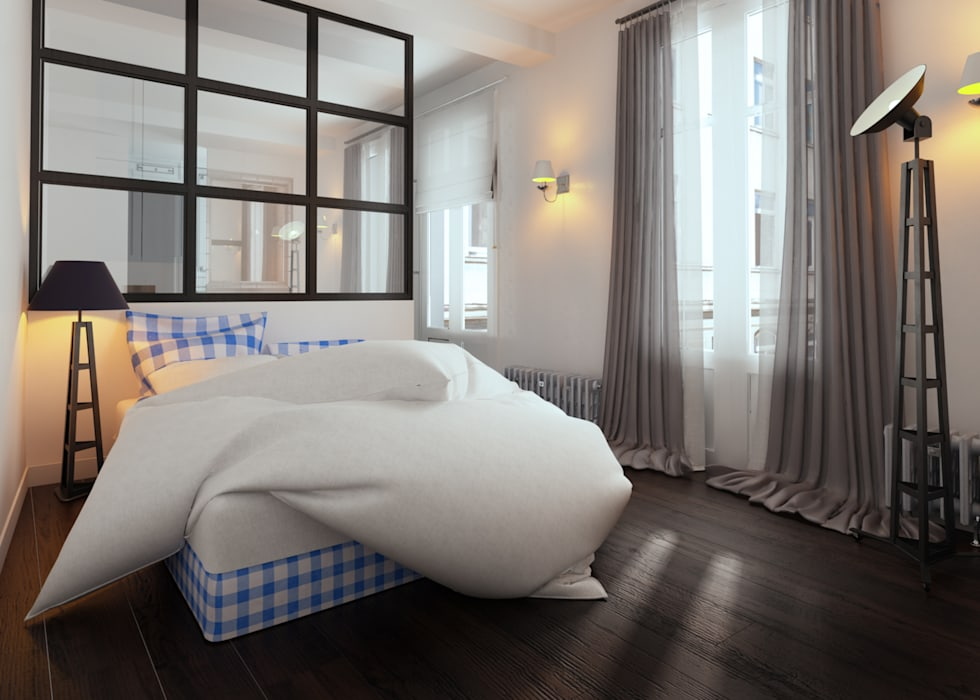 www.karineperez.com Salon classique par Agence KP Classique Bois Effet bois