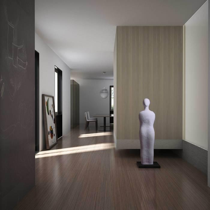 CASA PRIVATA M+F Soggiorno moderno di Studio Associato Casiraghi Moderno