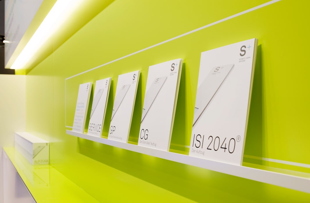 Messestand:  Multimedia-Raum von Marius Schreyer Design