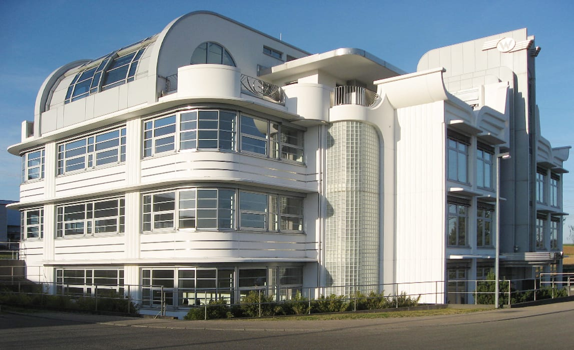 Art Deco Bürogebäude:  Bürogebäude von Lehmann Art Deco Architekt