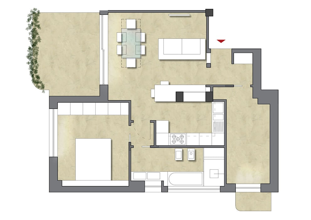 casa LM: Case in stile  di CAFElab studio