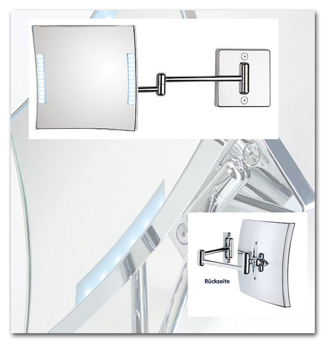 Kosmetikspiegel Schminkspiegel Mit Beleuchtung Badezimmer Von
