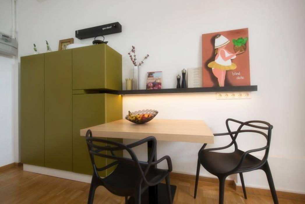 Moderne Kuche Im Altbau Moderne Kuchen Von Traume Ideen Raum Geben Modern Homify