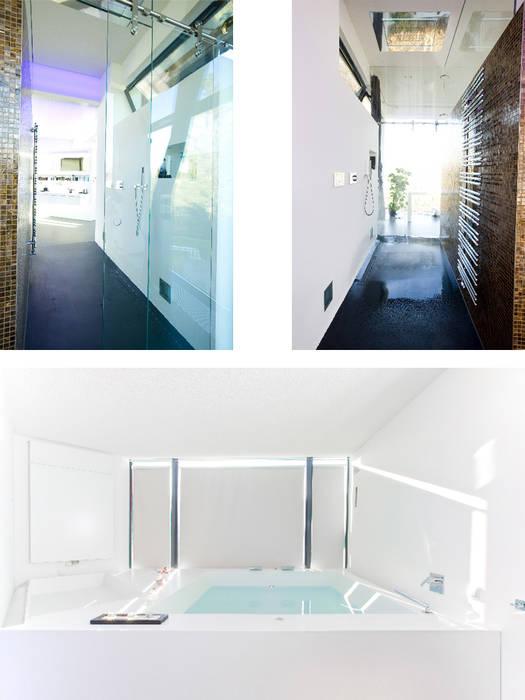 Atelier-Wohnung: moderne Badezimmer von Lehmann Art Deco Architekt