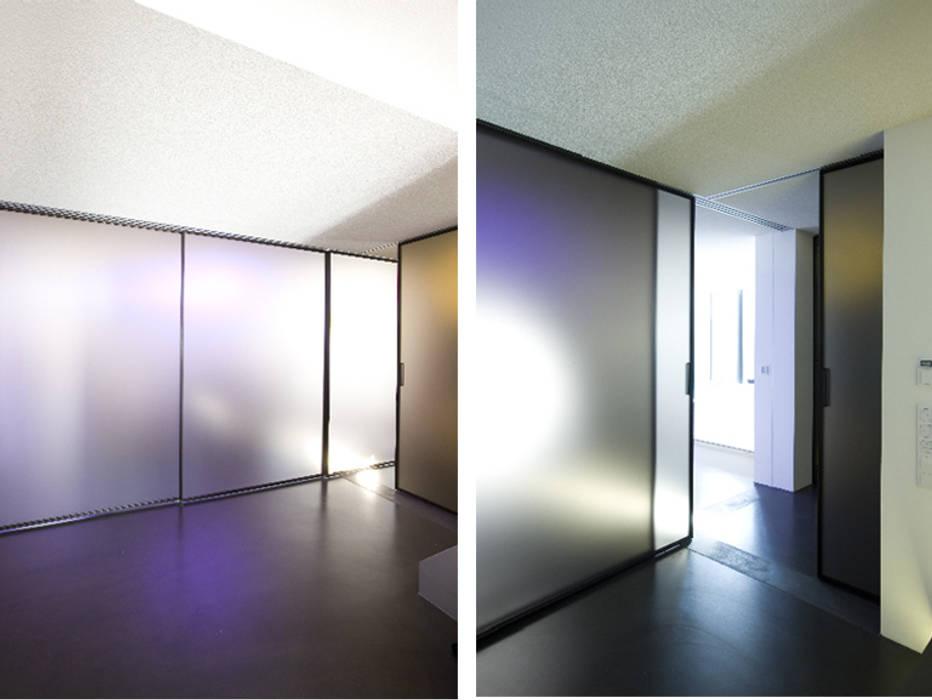 Atelier-Wohnung:  Flur & Diele von Lehmann Art Deco Architekt