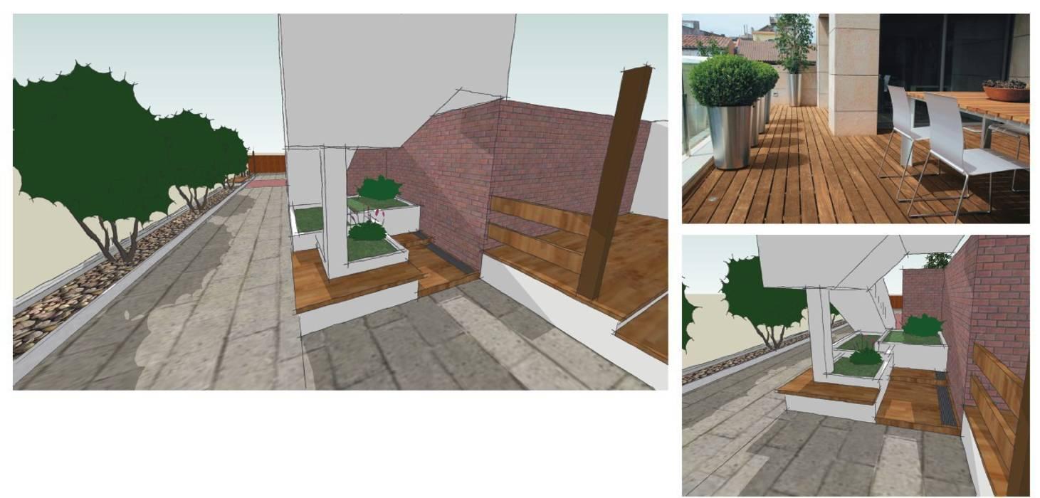 Giardino Giardino in stile mediterraneo di CAFElab studio Mediterraneo