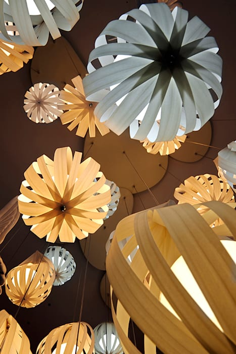 Raindrop Clusters Oleh Javier Herrero* Studio
