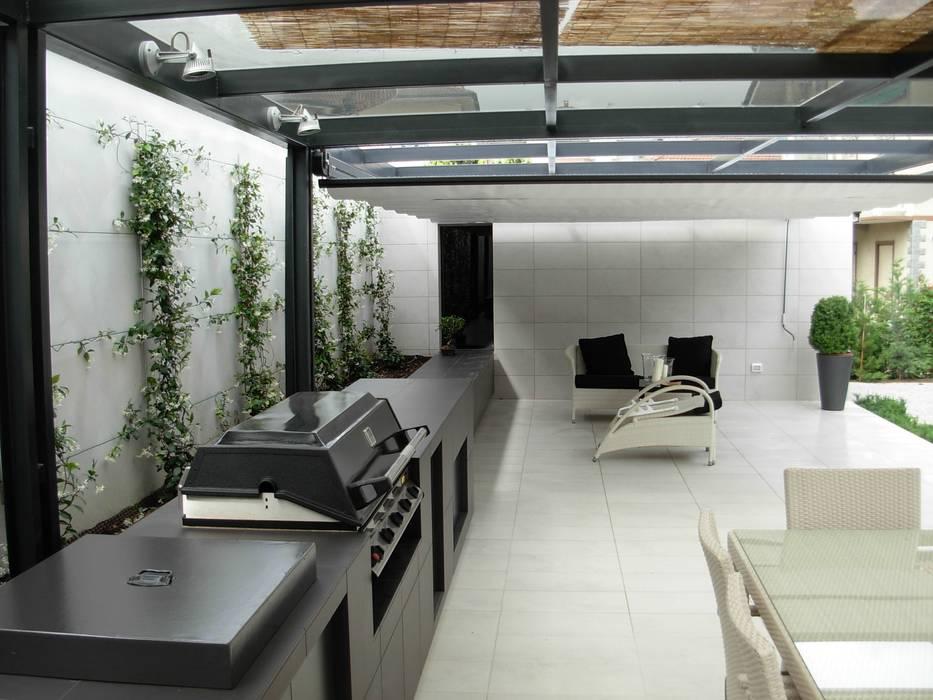Modern von progetti d 39 interni e design modern homify for Interni e progetti