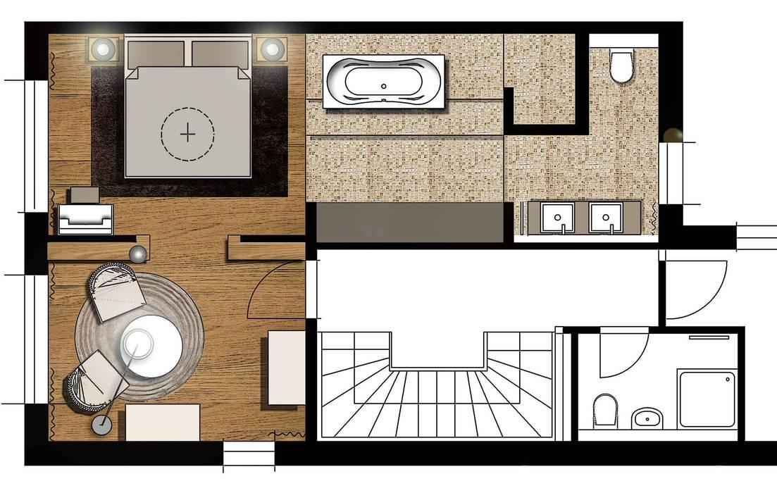 Entwürfe:  Badezimmer von Atelier Schöngestalt,