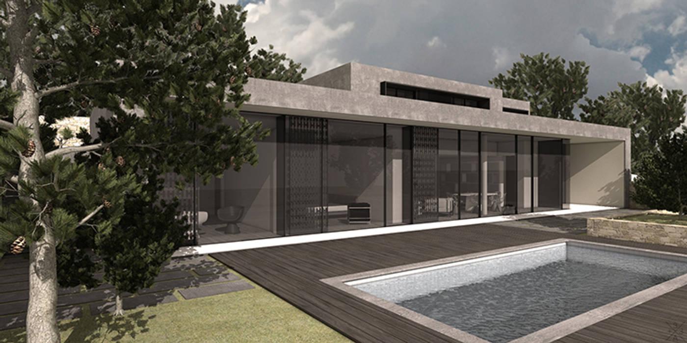 Maison Moderne à Grenoble Maisons modernes par +33architectes Moderne