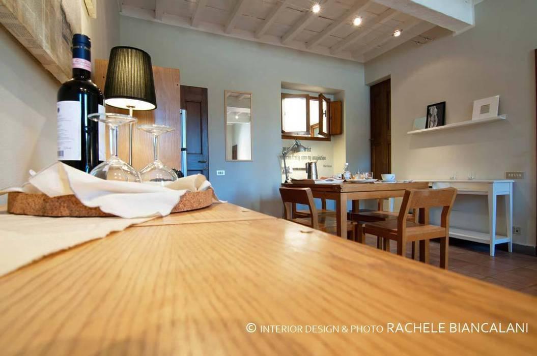 Rachele Biancalani Studio Ruang Keluarga Gaya Mediteran