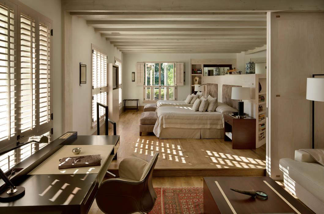 Rustikale Schlafzimmer von Artigas Arquitectos Rustikal