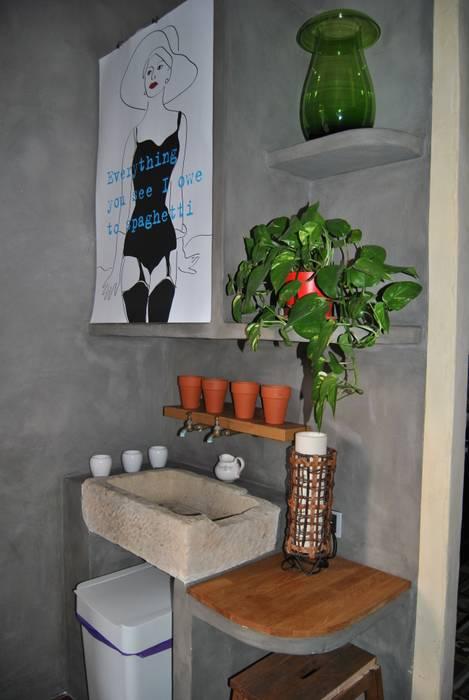 Lavabo: Baños de estilo mediterráneo de Anticuable.com
