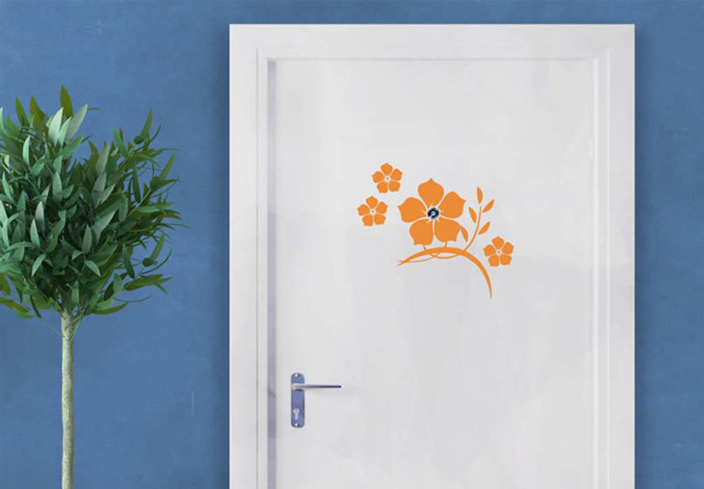 Türspion Jadeblumen:  Flur & Diele von K&L Wall Art