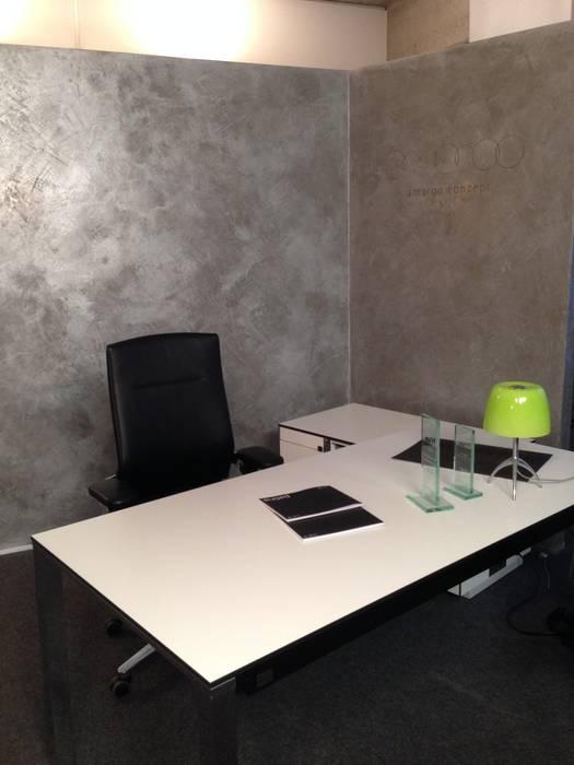 Industrial style study/office by Jakob Messerschmidt GmbH - Malerfachbetrieb Industrial