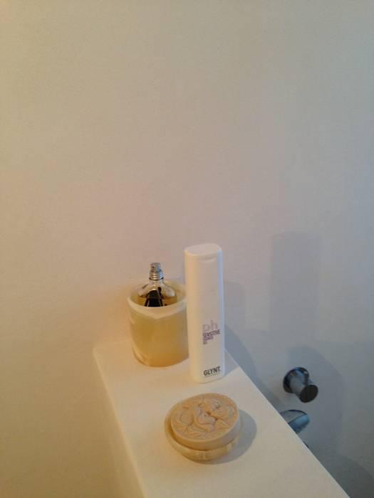Gäste WC / Dusche Fugenlos Badezimmer von Jakob Messerschmidt GmbH - Malerfachbetrieb