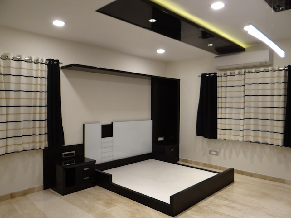Masterbedroom cot: bedroom by hasta architects | homify