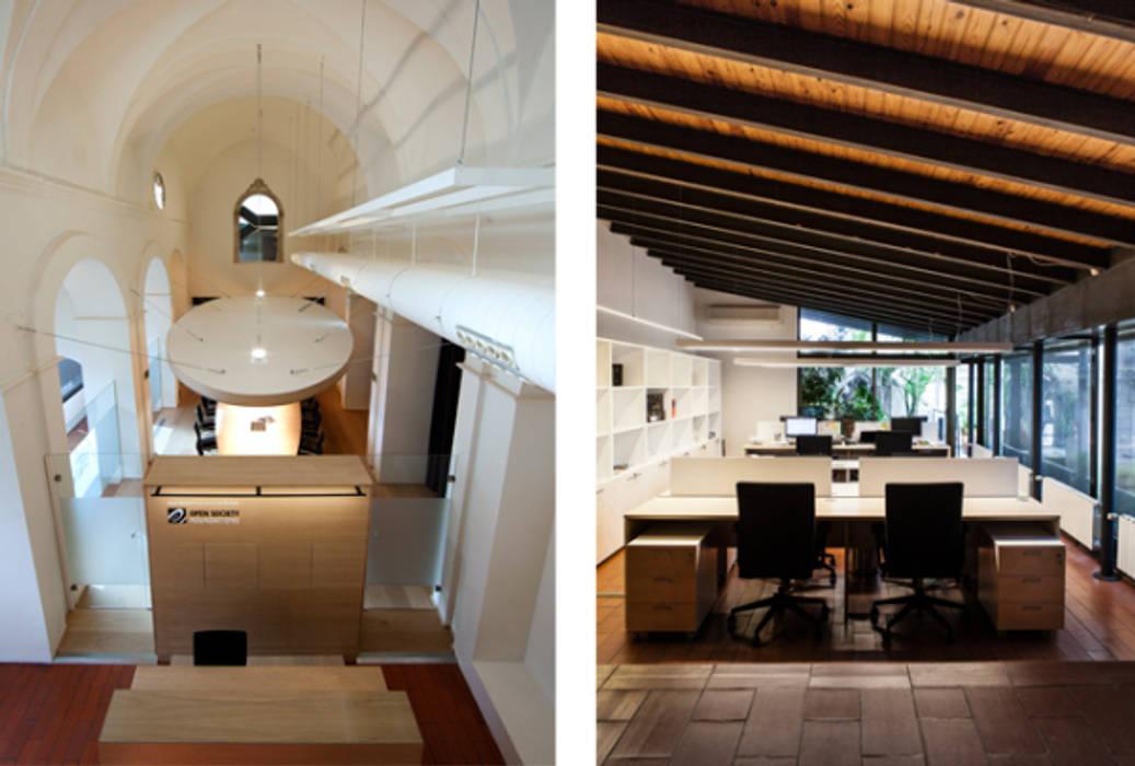 Sede de Fundación Open Society en Barcelona: Oficinas y Tiendas de estilo  de Fustacolor SL