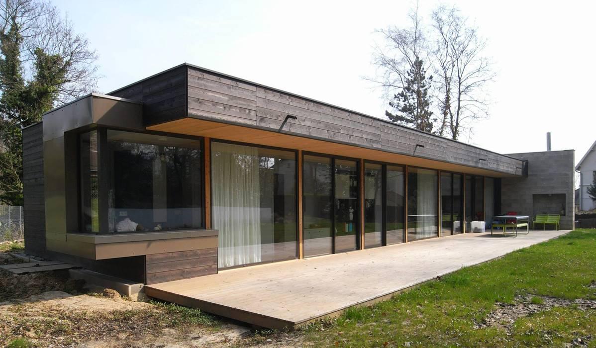 Casas estilo moderno: ideas, arquitectura e imágenes de Allegre + Bonandrini architectes DPLG Moderno