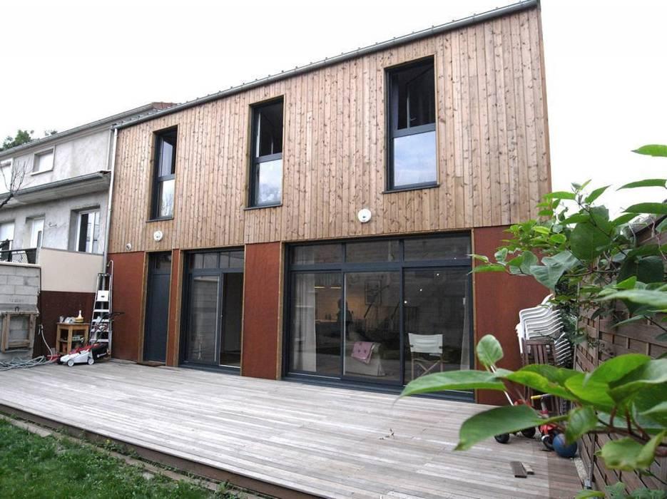 Allegre + Bonandrini architectes DPLG Дома в стиле модерн