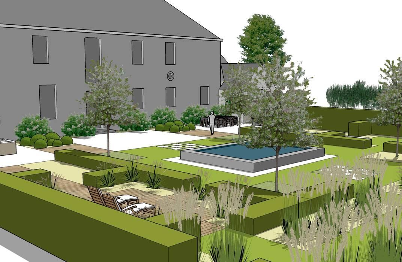 Landscapes & Cie Classic style garden