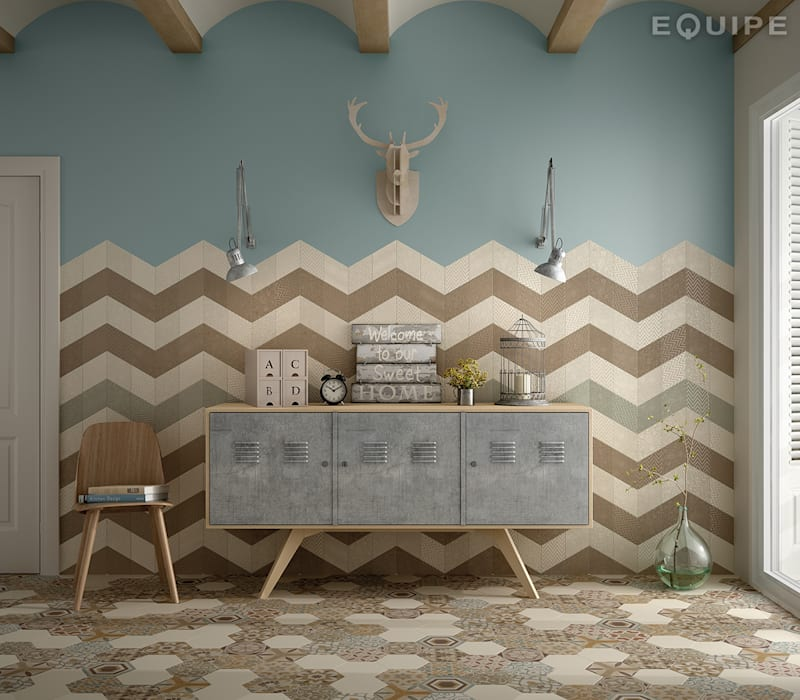 Equipe Ceramicas Eclectic style walls & floors
