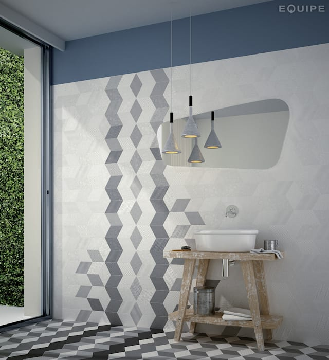 Modern Walls and Floors by Equipe Ceramicas Modern