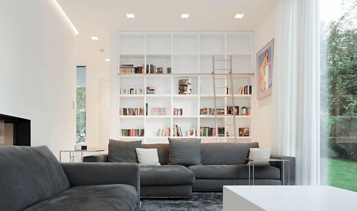 Modern Living Room by monovolume architecture + design Modern