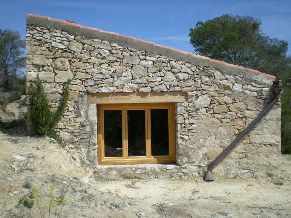 el lado sur: Casas de estilo  de Alacet
