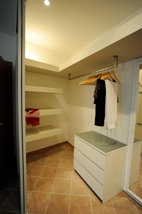 Dressroom Camera da letto di Luca Bucciantini Architettura d' interni
