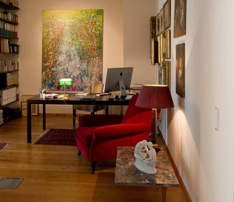 Büro Loft:  Arbeitszimmer von Elke Altenberger Interior Design & Consulting