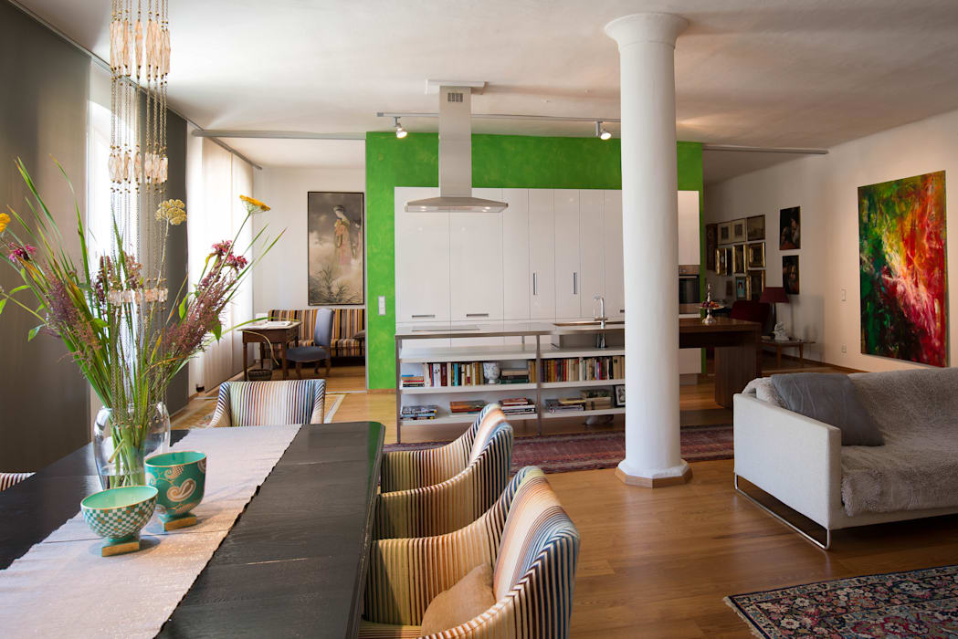 Loft Ausgefallene Küchen von Elke Altenberger Interior Design & Consulting Ausgefallen