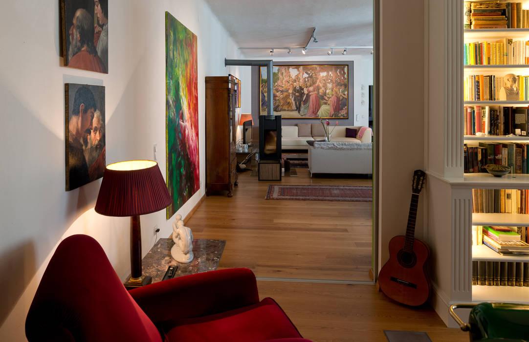 Büro - Perspektive Loft Ausgefallene Arbeitszimmer von Elke Altenberger Interior Design & Consulting Ausgefallen