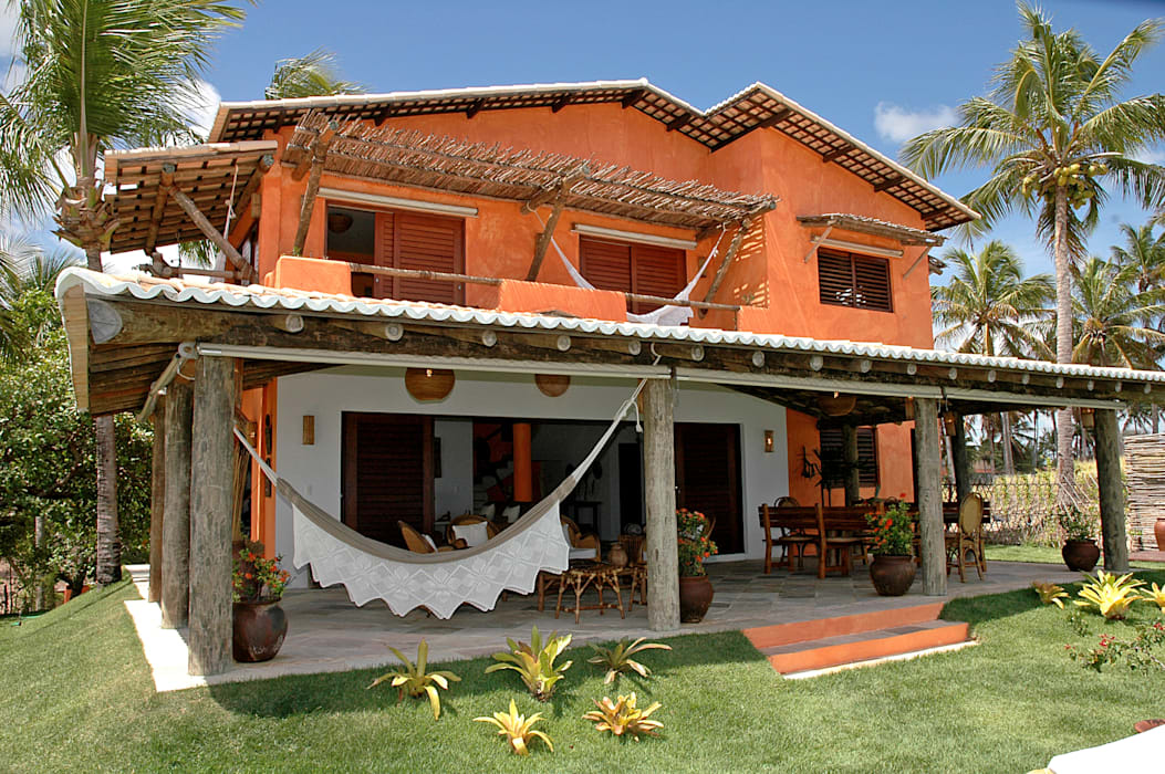 Casas de estilo rural de Isnara Gurgel - Arquitetura + Interiores Rural