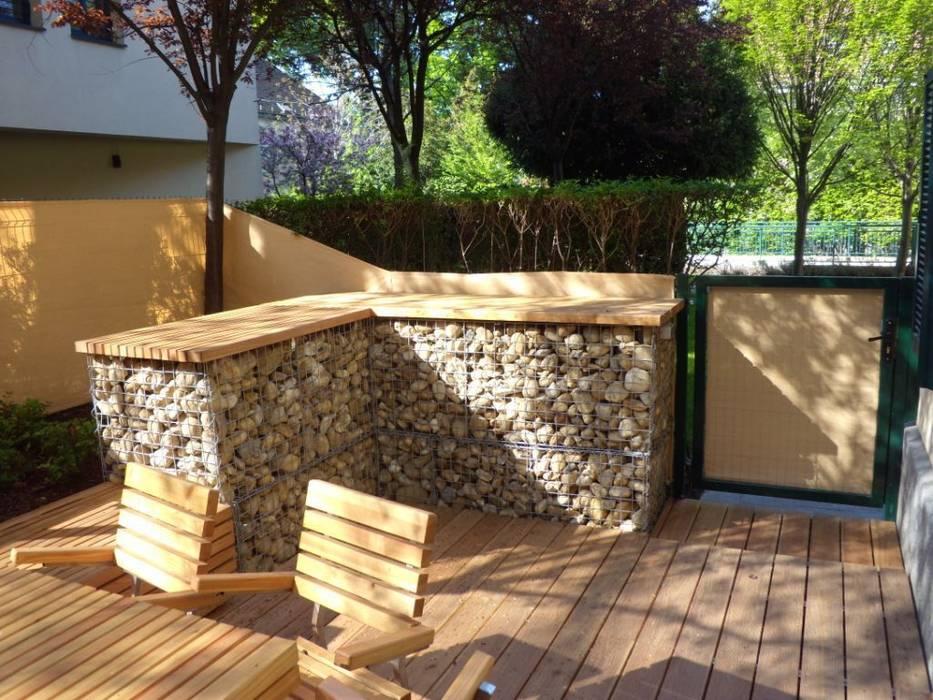 Terrasse :  Terrasse von Elke Altenberger Interior Design & Consulting